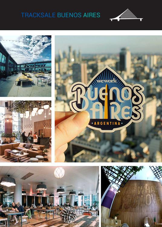 Fotos do escritório na WeWork Torre Bellini, em Buenos Aires, Argentina